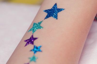 Kids glitter tattoo bonart for Where to get glitter tattoos