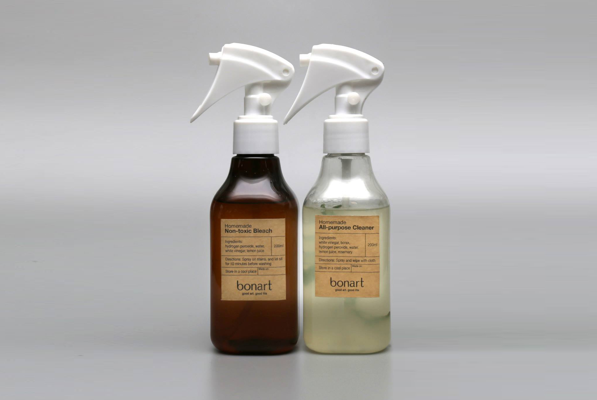 Homemade cleaner and bleach are natural and non-toxic which can be used safely. Enjoy family cleaning time with these eco-friendly cleaners instead of ...